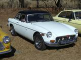 1974 MG MGB MkIII Glacier White Terry Allen