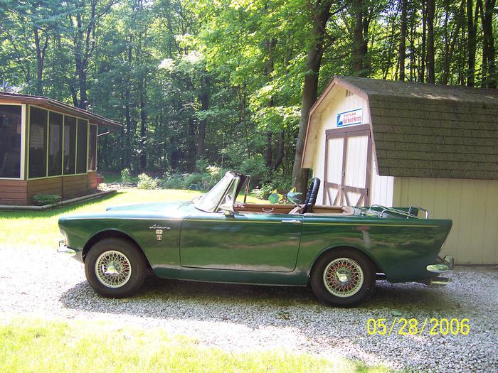 1964 sunbeam alpine b9201861 registry the sunbeam. Black Bedroom Furniture Sets. Home Design Ideas