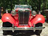 1952 MG TD MkII Red Kevin M