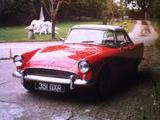 1963 Sunbeam Alpine Red White Paul Dickinson