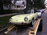 1972 Fiat 850 Spider Primrose Yellow Just The Brit