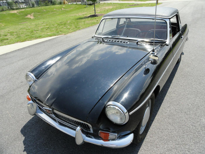 1963 MG MGB (GHN3ZZZZZ) : Registry : The Sunbeam Experience