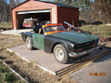 1972 Triumph TR6 Red Just The Brit