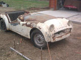 1960 Triumph TR3A White Just The Brit
